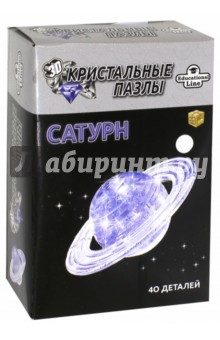 "3D Crystal Puzzle ""Сатурн"", L (HJ027155)"