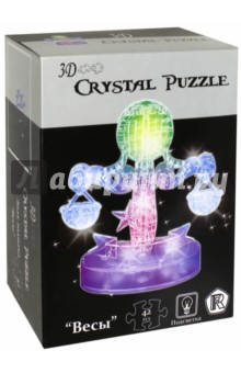 "3D Crystal Puzzle ""Знак зодиака ""Весы"" (9045A)"